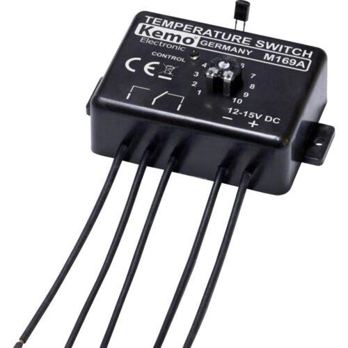 Sensationelle Elektronisk Termostat 12 V/DC KEMO M169 – Solcelle.dk MS48