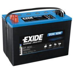 Exide AGM batteri 12V/ 100Ah EP900