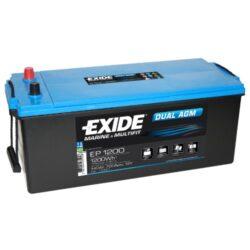 Exide AGM batteri 12V/ 140Ah EP1200