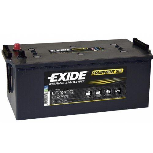 Exide EQUIPMENT Gel Batteri ES2400 12V 210Ah