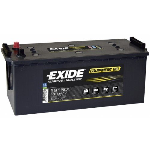 Exide ES1600 – GEL batteri, 140Ah/12V