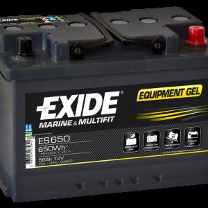 Exide 12V batterier AGM og GEL op til 240Ah
