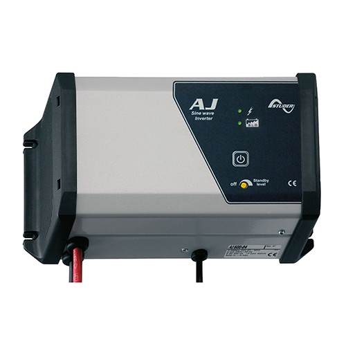AJ 600-24-S, 500W/230V/24V Inverter med 15A laderegulator