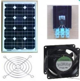 Solcelleventilation, solvarme og frisk luft