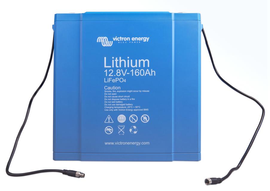 Victron Energy LiFePO4 Lithium Batteri 12,8V/160Ah