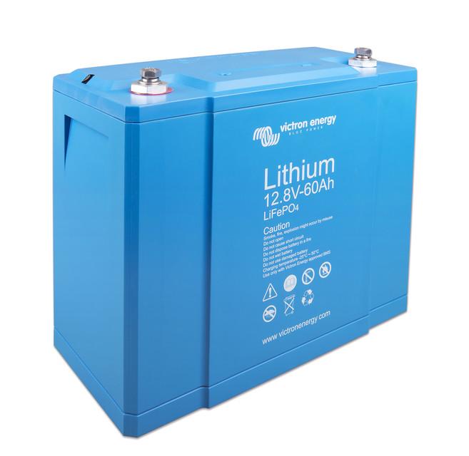 Victron Energy LiFePO4 Lithium Batteri 12,8V/60Ah - CB