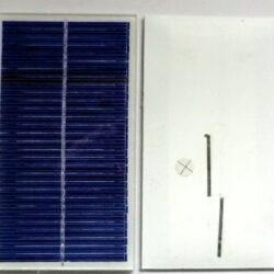 Mini solcelle 15V 66mA 1,0W