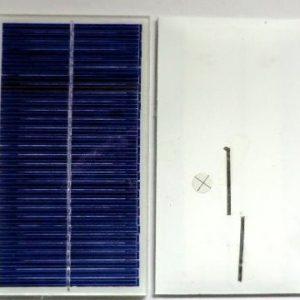 Mini solceller fra 4 til 15V