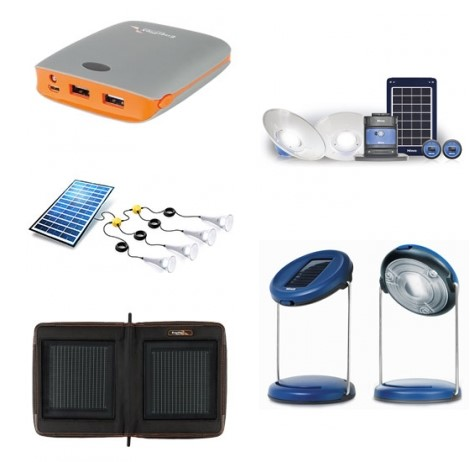 Pico Solar Kits, små mobile systemer til belysning