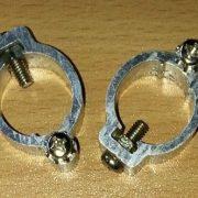 Polklemmer til Batteri( + og - ) Aluminium