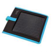 Portable Solar Charger Kickr I Blue mobiloplader