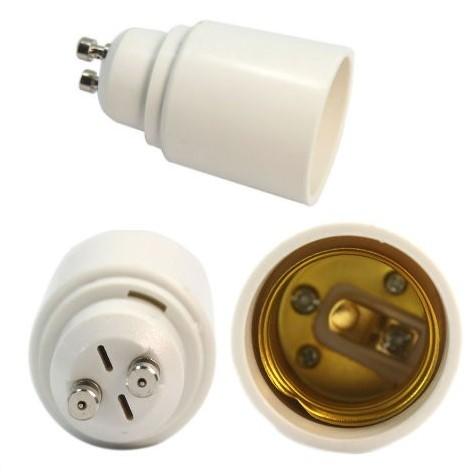 Sokkel Adapter GU10 til E27