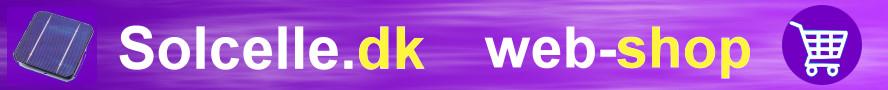 Solcelle. DK webshop