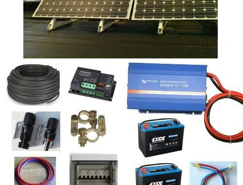 Solcelleanlæg SC260BI