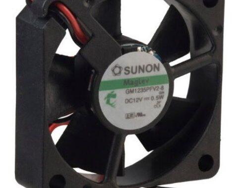 Sunon-BLÆSER-12V-35×35x10-11m³h-22dBA-05W