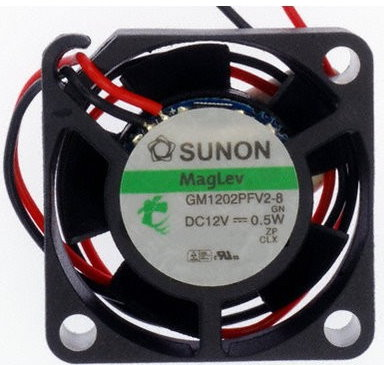 Sunon BLÆSER 5V 25×25x10 5,1m³/h 16dBA0,4W