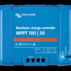 Victron BlueSolar laderegulator MPPT 100/30 12/24 Volt ( maks 100V, 30A)