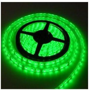 Fleksibel 60LED-bånd SMD, vandtæt lys stribe-GRØNT lys