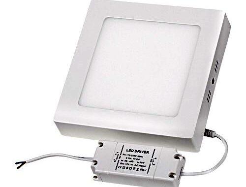 Firkantet LED panel 18x18 cm