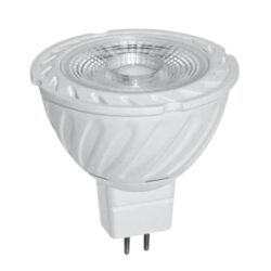 LED spotlys 6W, 12V AC/DC, MR16, 2700