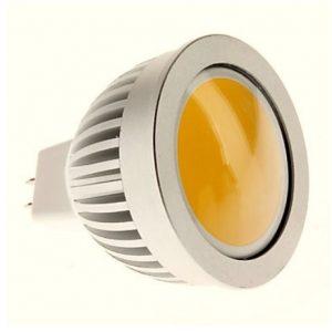 12V/3W COB LED Pære MR16 Fatning varm/hvid