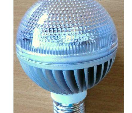 230V_3W Demo LED pære - 1 stk. på lager