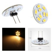 9 SMD LED G4 SPOT/2,0W-Varm/Hvid Type T