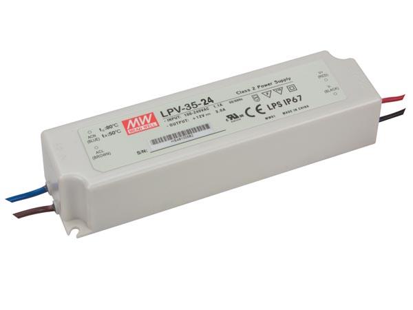 LED strømforsyning LPV-35-24V