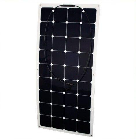 Phaesun Semiflex solcelle 100W/12V til båd, campingvogn