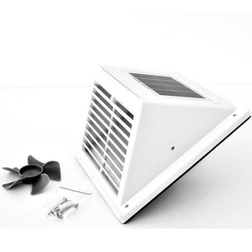 Solar Ventilations- Kit Fresh Breeze White