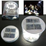 Oppustelig Solar LED Lantern