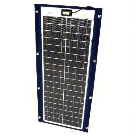 Marine fleksibel solcelle 50W/12V Sunware TX 12052