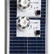 Ventilation med solcelle kcvr30