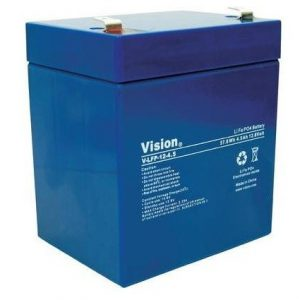 Battery Vision LFP124.5 T, 12V 4,5Ah