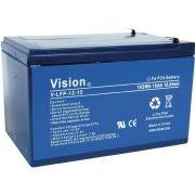 Battery Lithium Vision LFP1215, 12V 15Ah