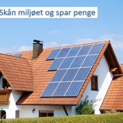 Nettilsluttede anlæg, inverters, solceller