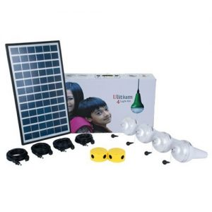 4 Ulitium 200 Solar Lightkit White Sundaya