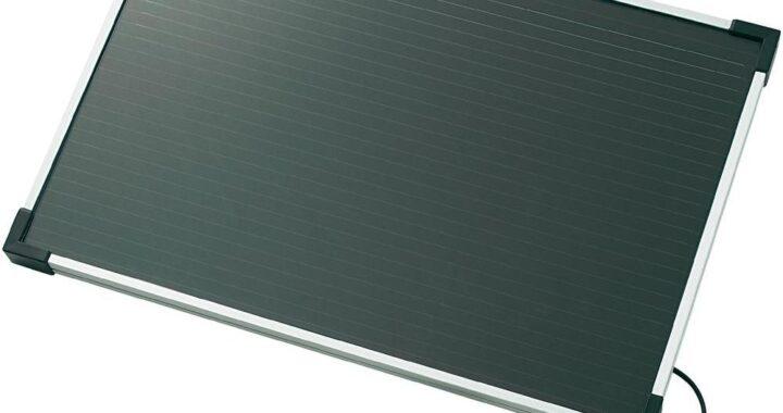 Amorf solcellemodul 6Wp/12V