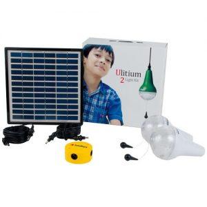2 Ulitium 200 Solar Lightkit White Sundaya
