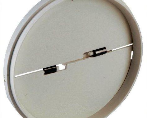 Klapventil til 12V/4W rørventilator WallAir