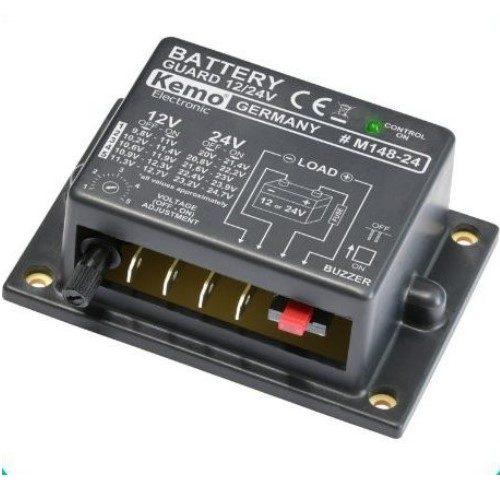 Batterivagt 12V eller 24V DC, M148A-24