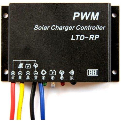 Laderegulator PWM 10A / 12-24V IP68 VANDTÆT / Lithium