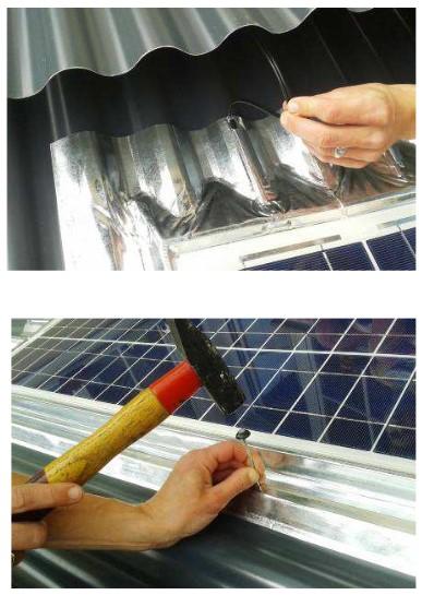 Module Sunwave 50Watt montering