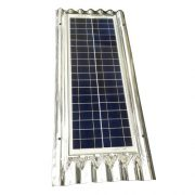 Solcelle 50W, intefgreret med galvaniseret bølgeplade