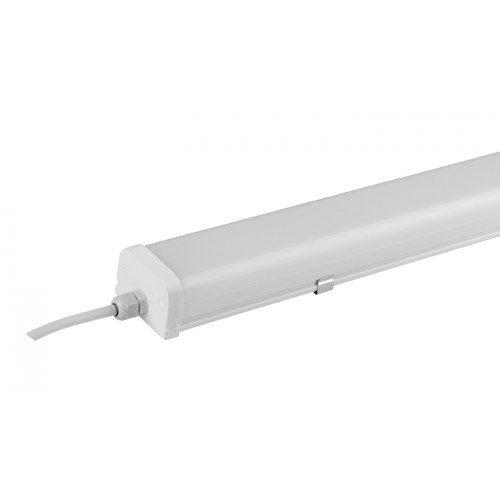 Unika LED armatur, 36W, 120cm, 6000K, IP65, Hvid   Solcelle.dk   Solcelle.dk NK-12