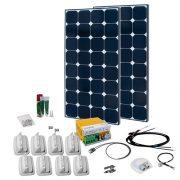Solcelleanlæg SPR Caravan Kit Solar Peak Nine