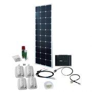 Solcelleanlæg SPR Caravan Kit Solar Peak Six