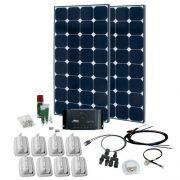 Solcelleanlæg SPR Caravan Kit Solar Peak Three