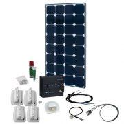 Solcelleanlæg SPR Caravan Kit Solar Peak Two 4.0