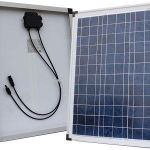 50Wp/12V solcelle polykrystallinsk